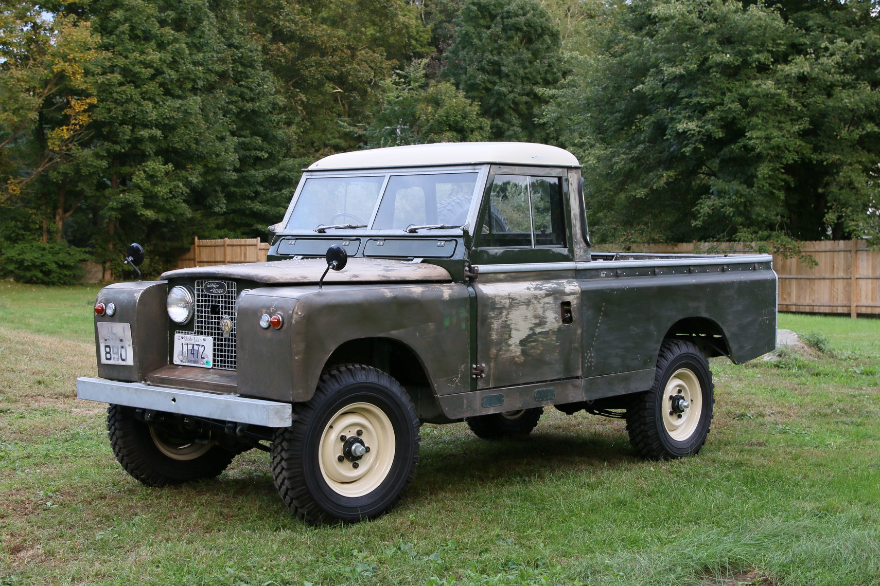 1960 Land Rover Series II 109 inch pickup