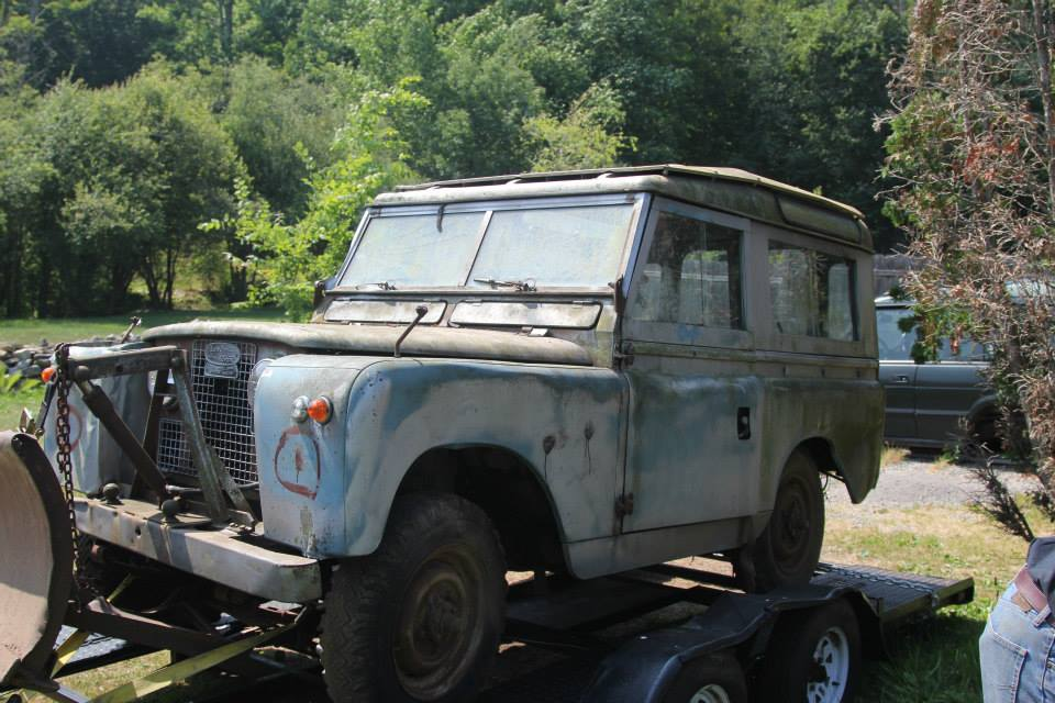 This 1962 Series IIa was a equipped with a plow from the factory. The original owner was from Sherman CT, it was sold to Hayestown Foreign Car in Danbury CT in 1978 and used to plow their lot until 1990. It has 16,900 original miles.