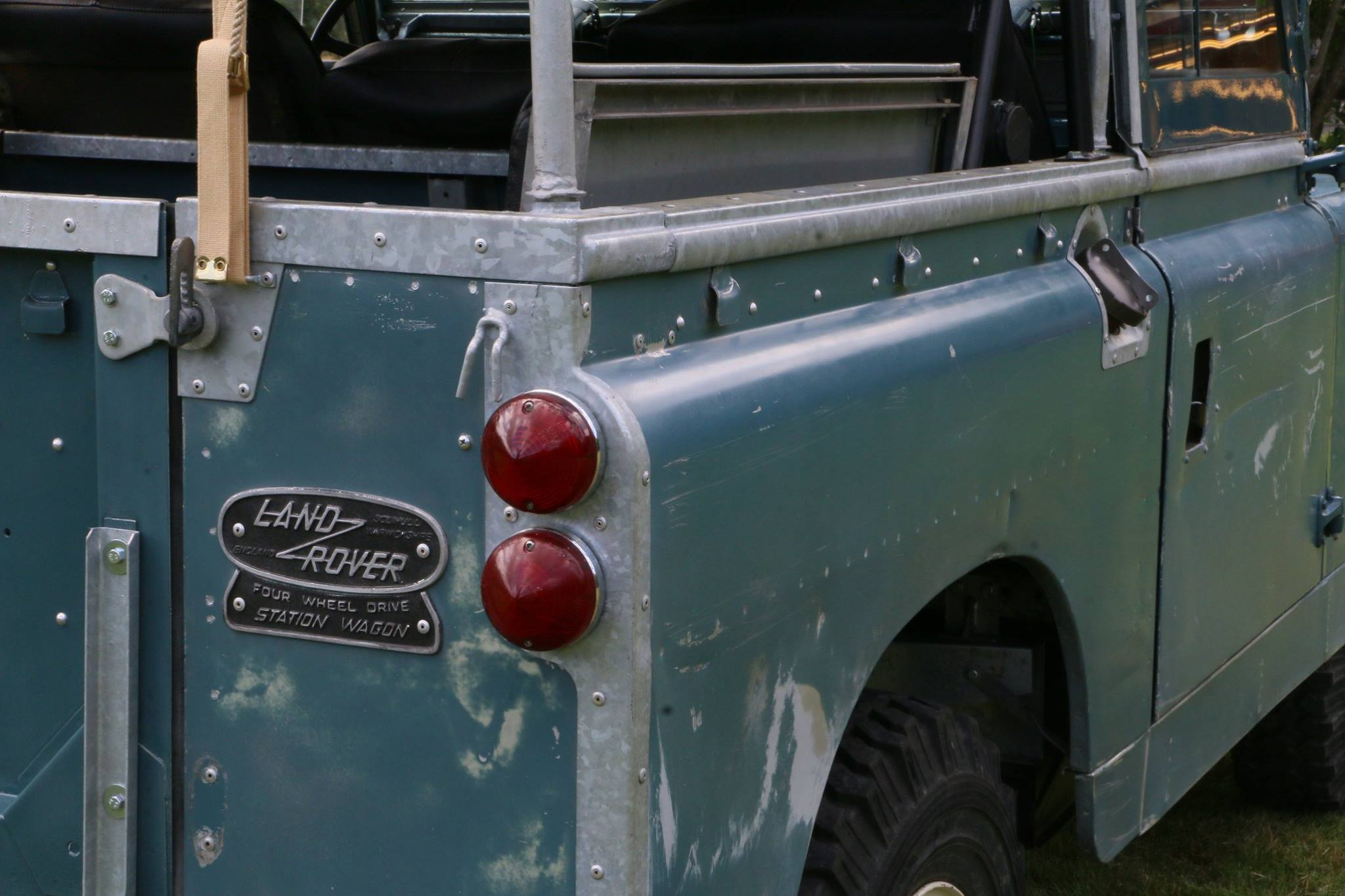 1962 Land Rover with authentic patina