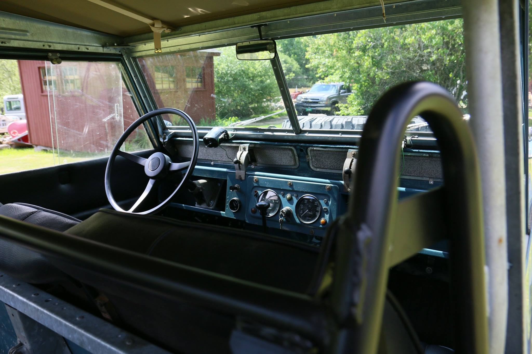 1962 Land Rover Series IIa dashboard