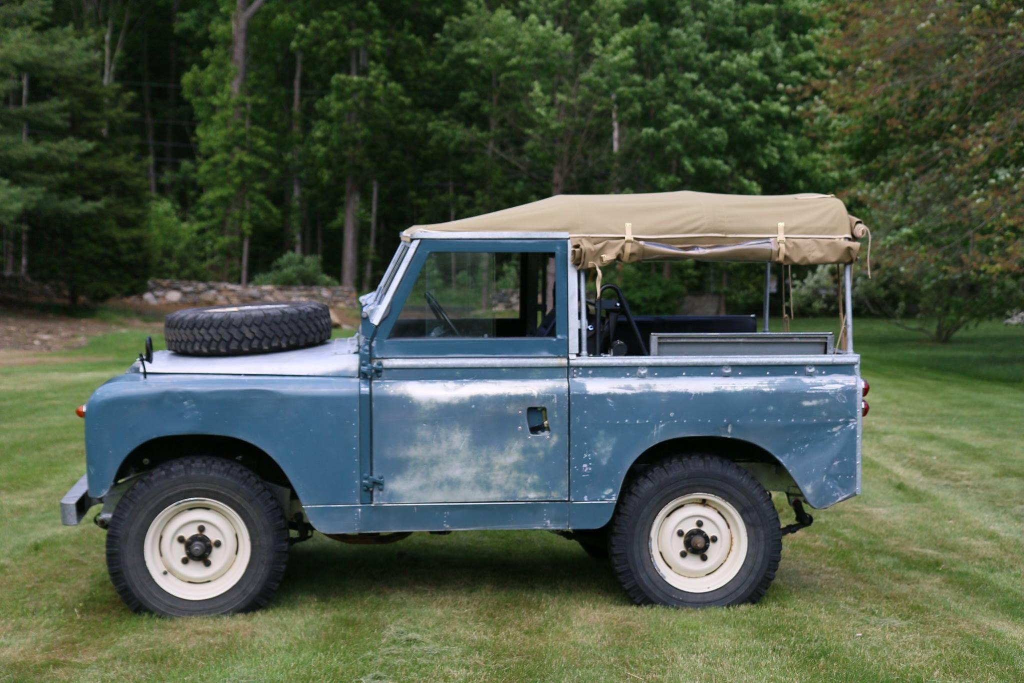 Land Rover Marin >> 1962 Land Rover Series Iia Marine Blue Patina North
