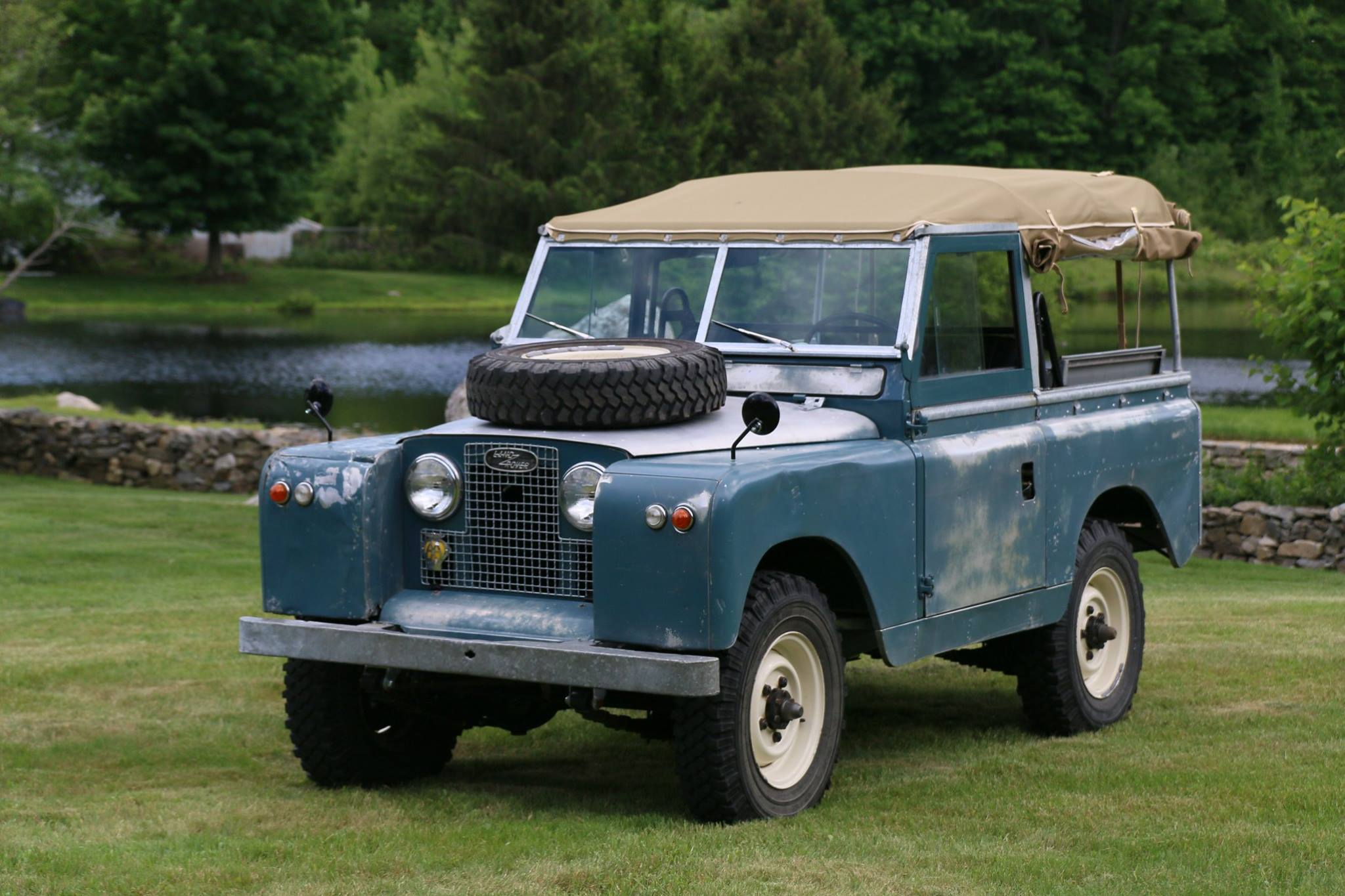 Land Rover Marin >> 1962 Land Rover Series Iia Marine Blue Patina North America Overland