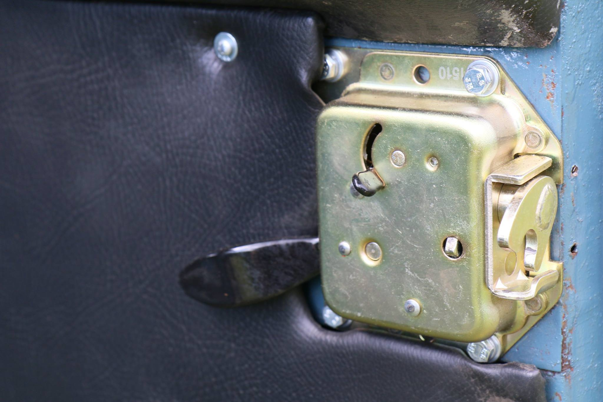 Series III door latches are installed.