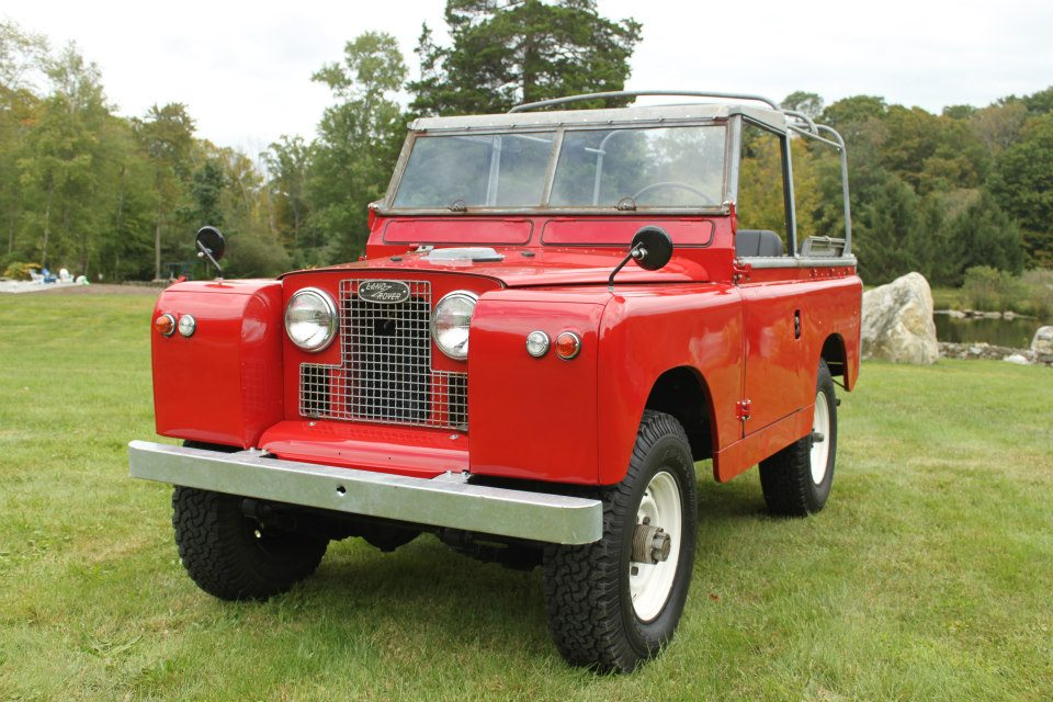 1962 Land Rover Series IIa Red