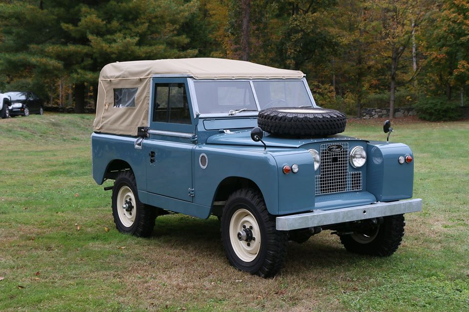 1964 Land Rover Series IIA Marine Blue