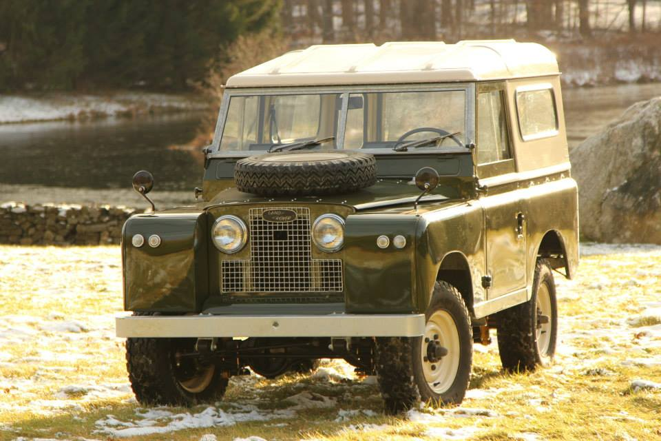 Fully Restored Land Rover