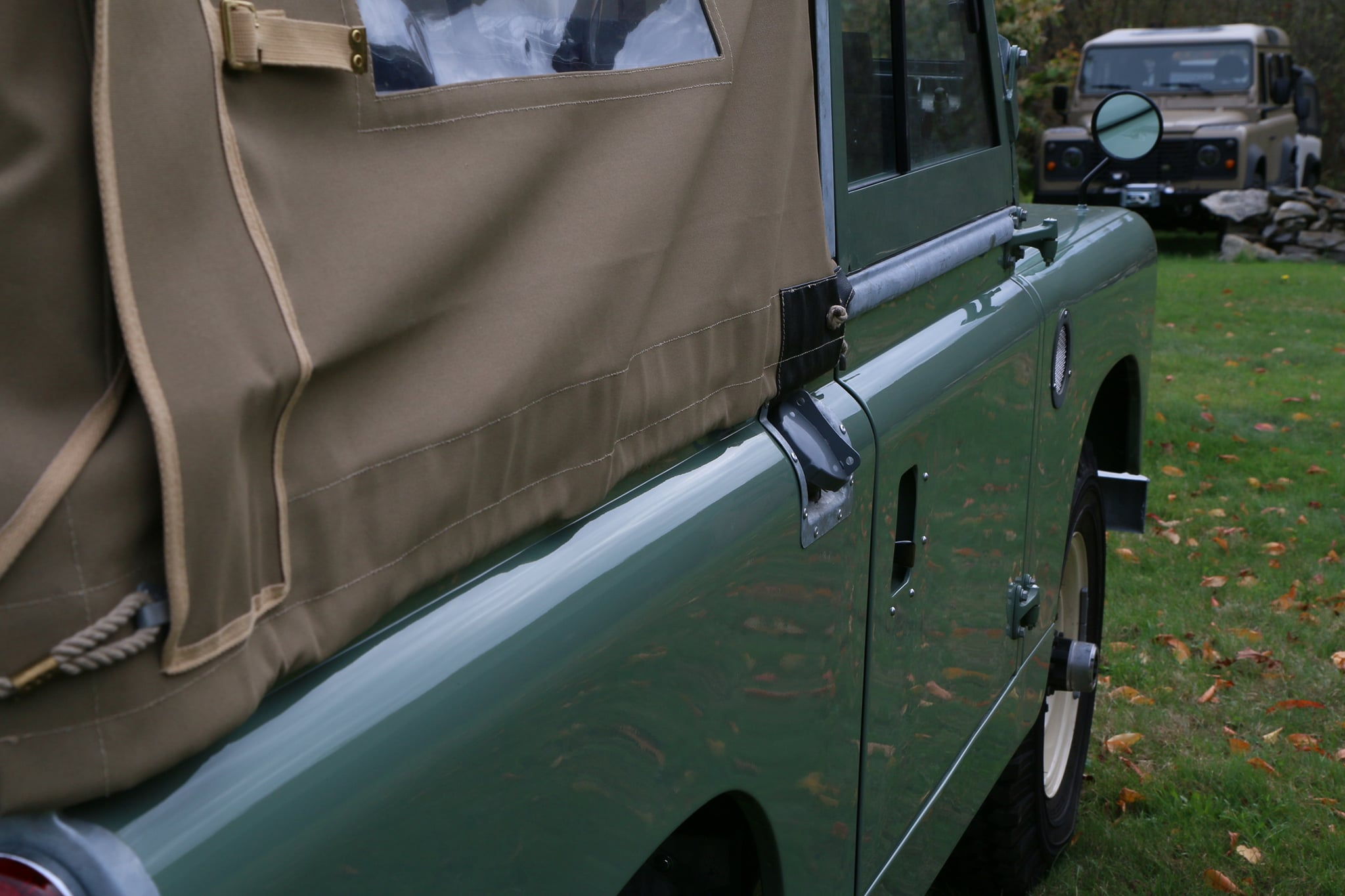 1965 Land Rover Series IIA Pastel Green Photo 11