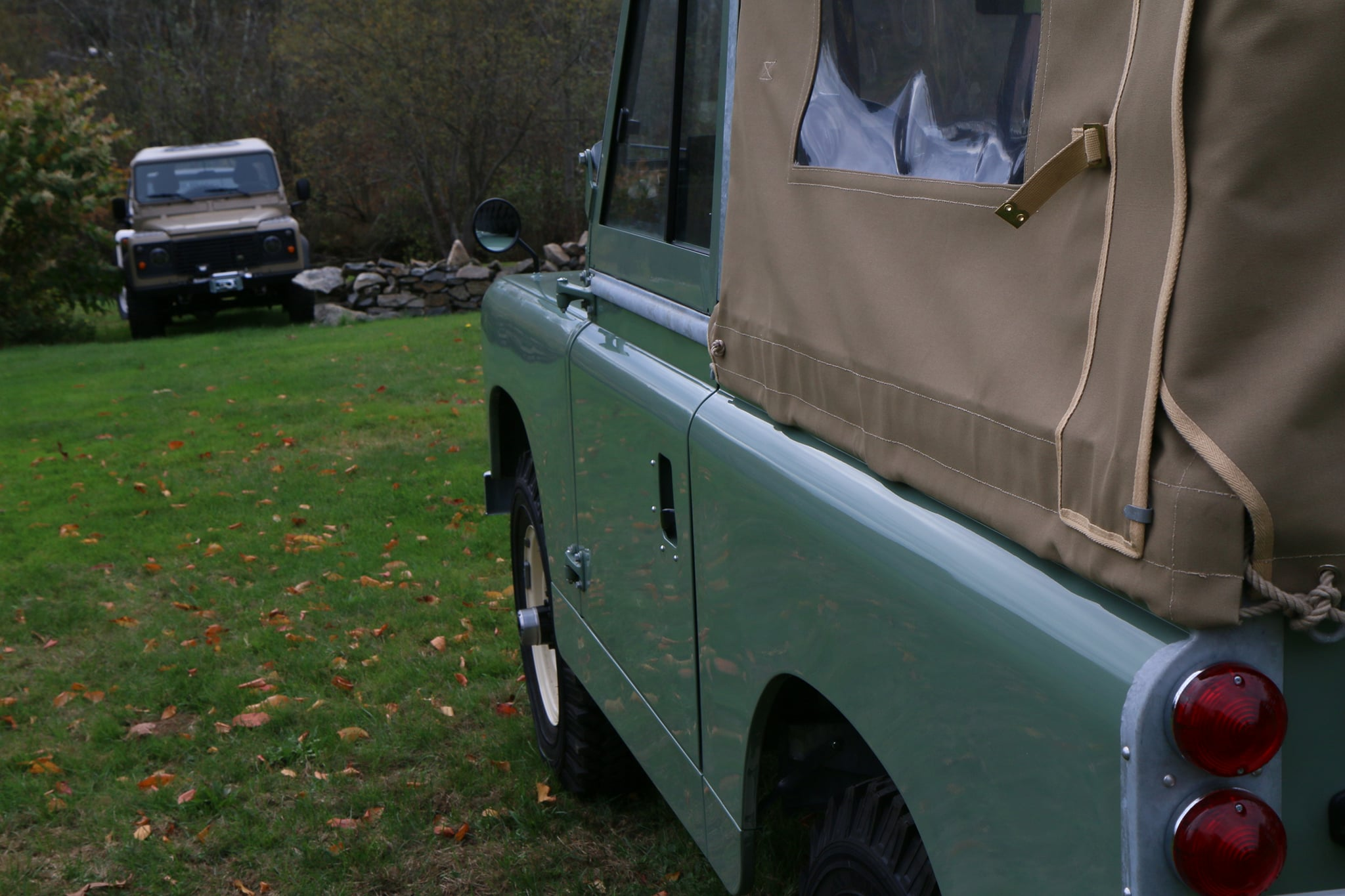 1965 Land Rover Series IIA Pastel Green Photo 12