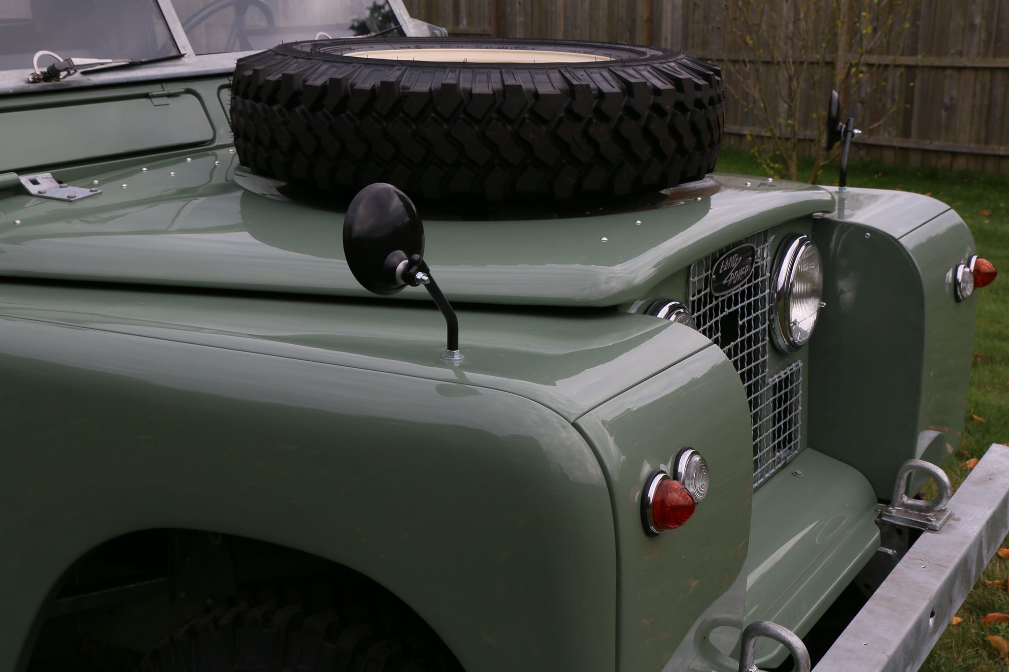 1965 Land Rover Series IIA Pastel Green Photo 13