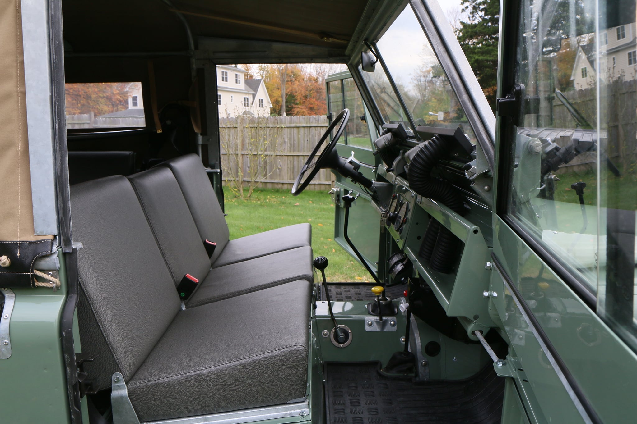 1965 Land Rover Series IIA Pastel Green Photo 27