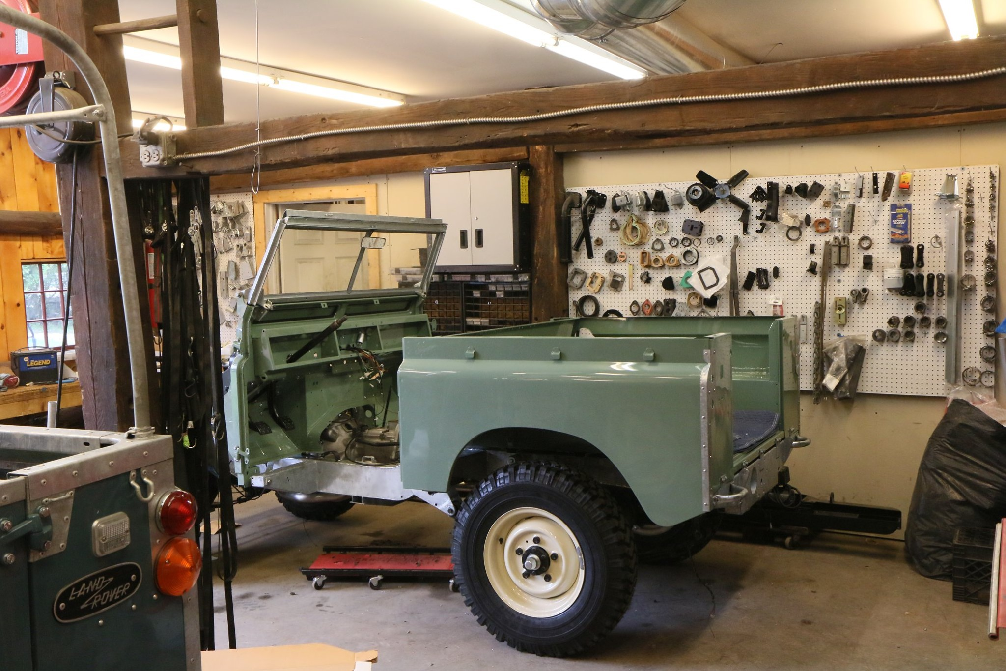 1965 Land Rover Series IIA Pastel Green Photo 35