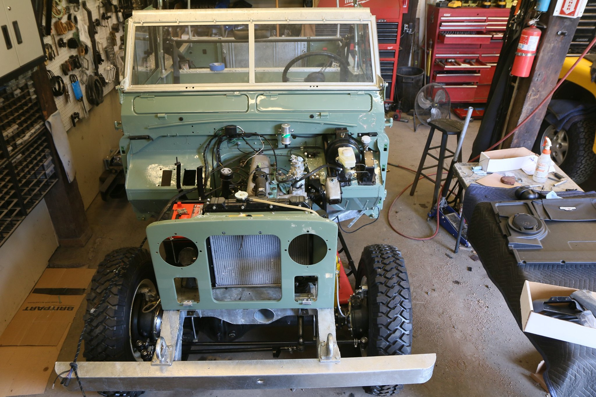 1965 Land Rover Series IIA Pastel Green Photo 36