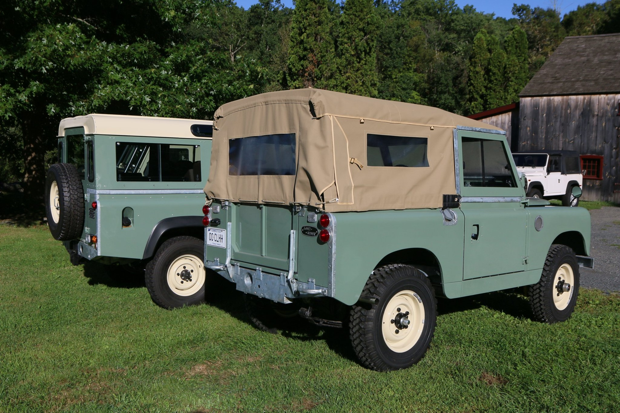1965 Land Rover Series IIA Pastel Green Photo 40