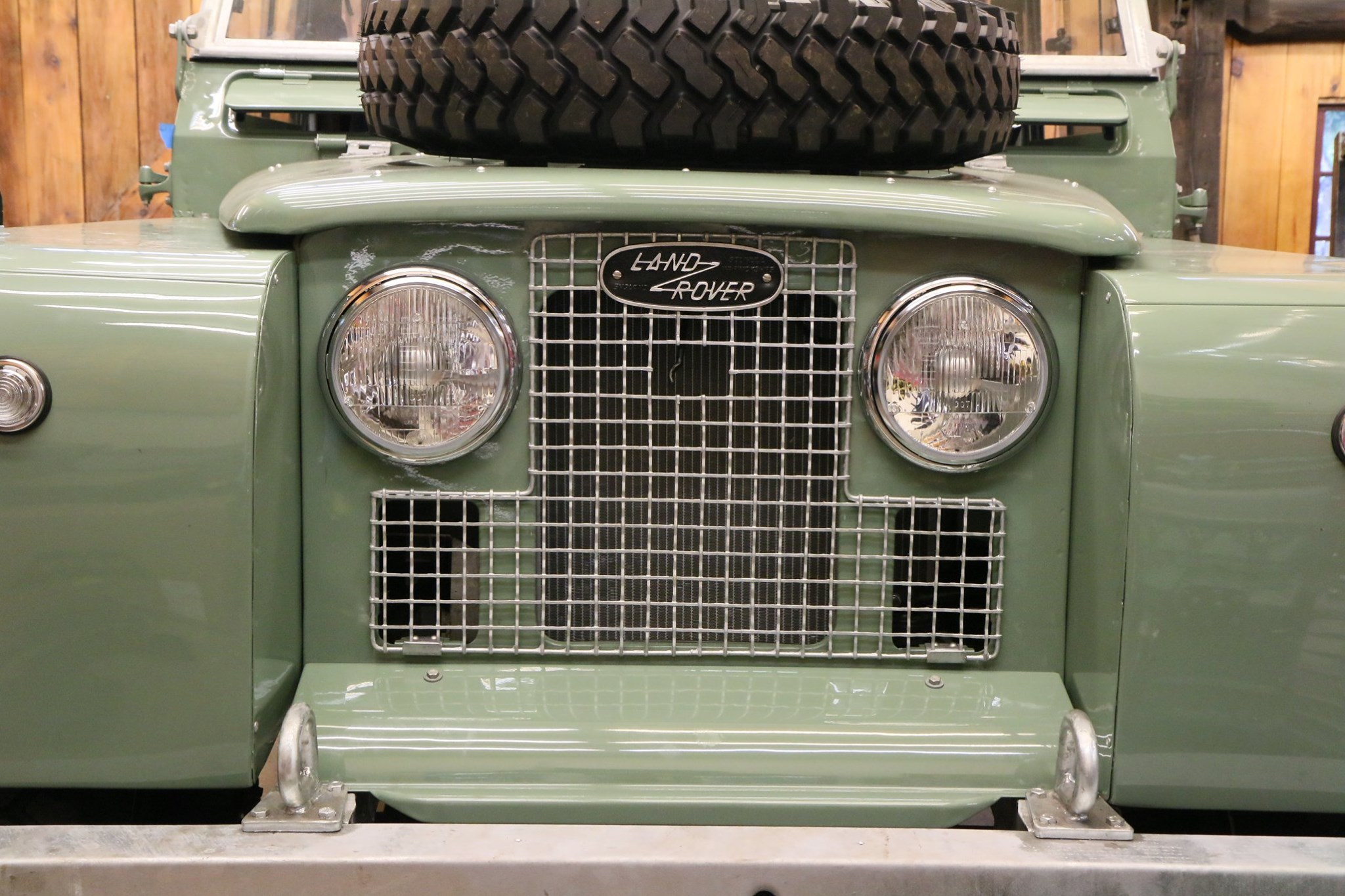 1965 Land Rover Series IIA Pastel Green Photo 41