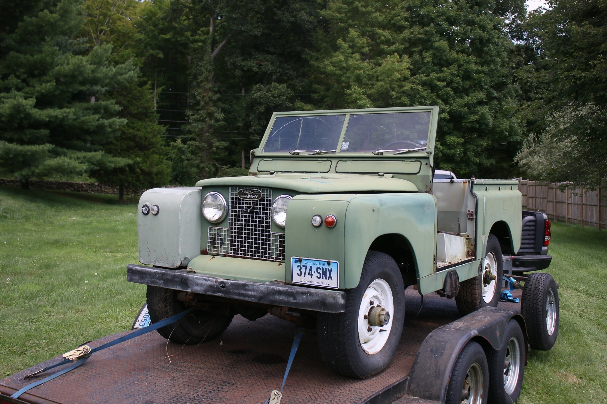 1965 Land Rover Series IIA Pastel Green