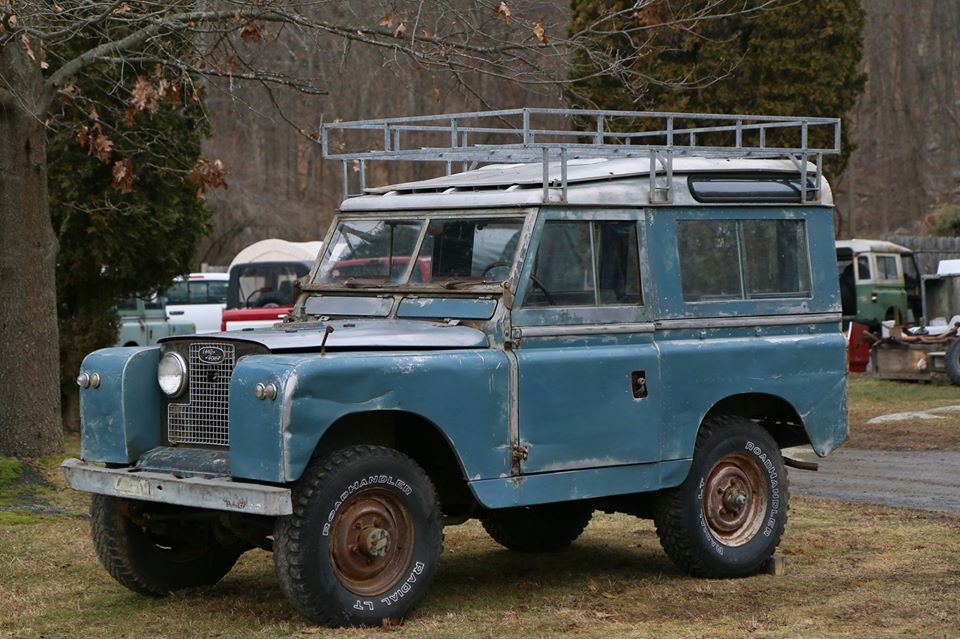 1966 Land Rover Series IIa in Marine Blue Photo 1