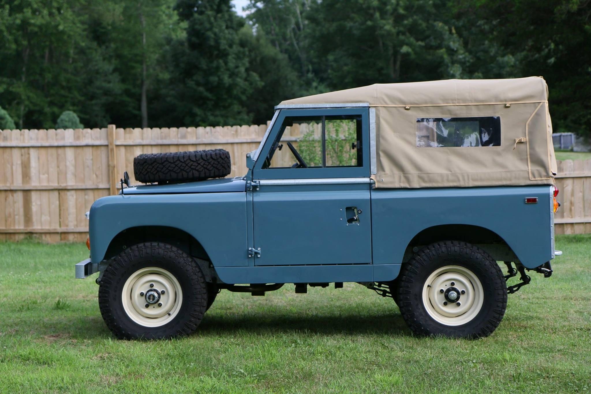 Engine Break In Oil >> 1969 Land Rover Series IIa - Full Restoration - North ...