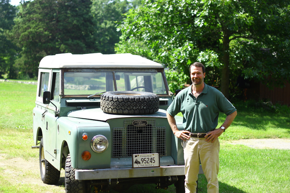 1969 Land Rover Series IIA Pastel Green