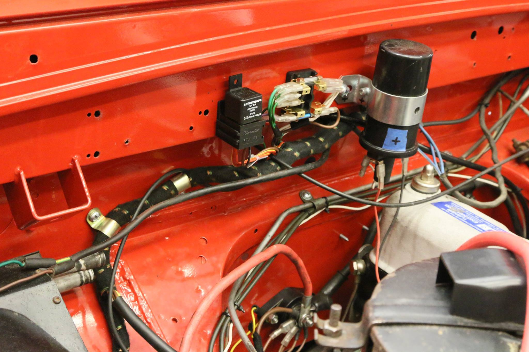 Land Rover Series Iia Wiring Harness : Land rover wiring harness damage library