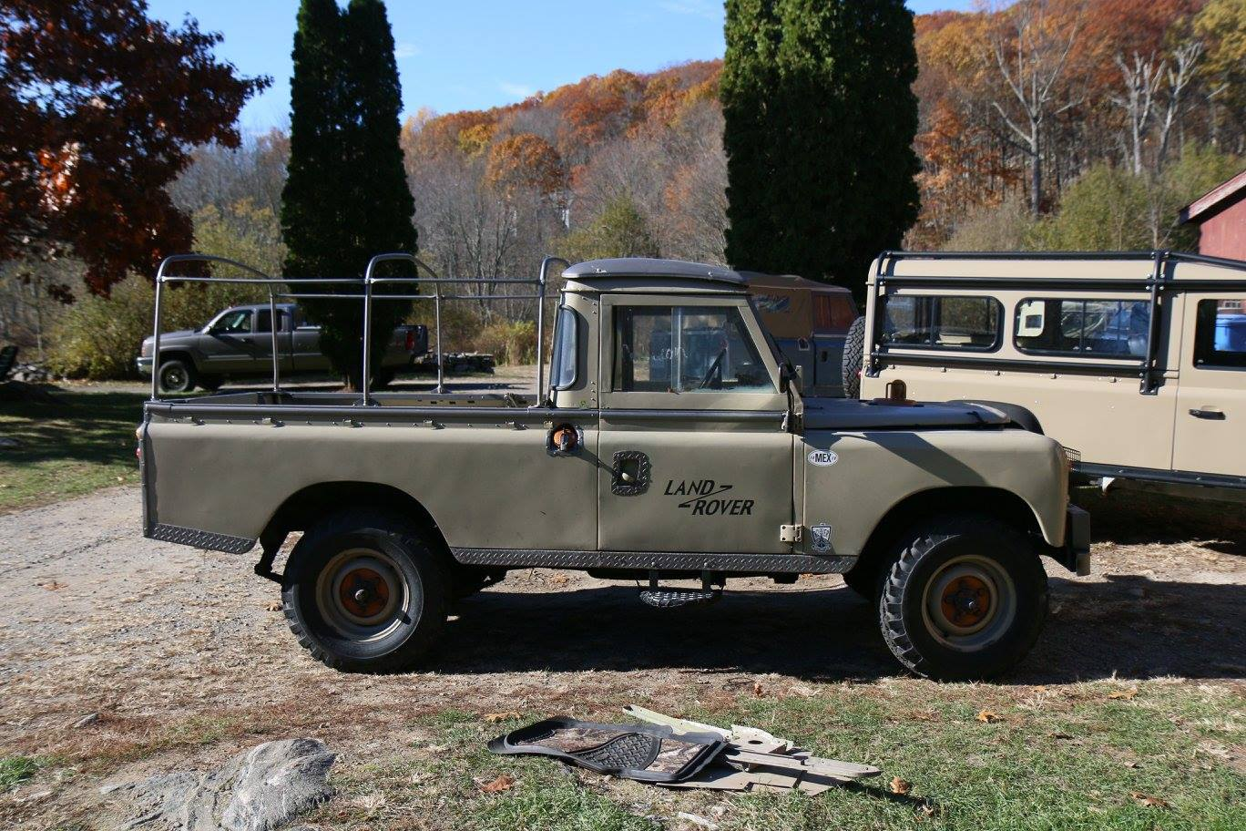 1972 Land Rover Series III 109 inch pickup