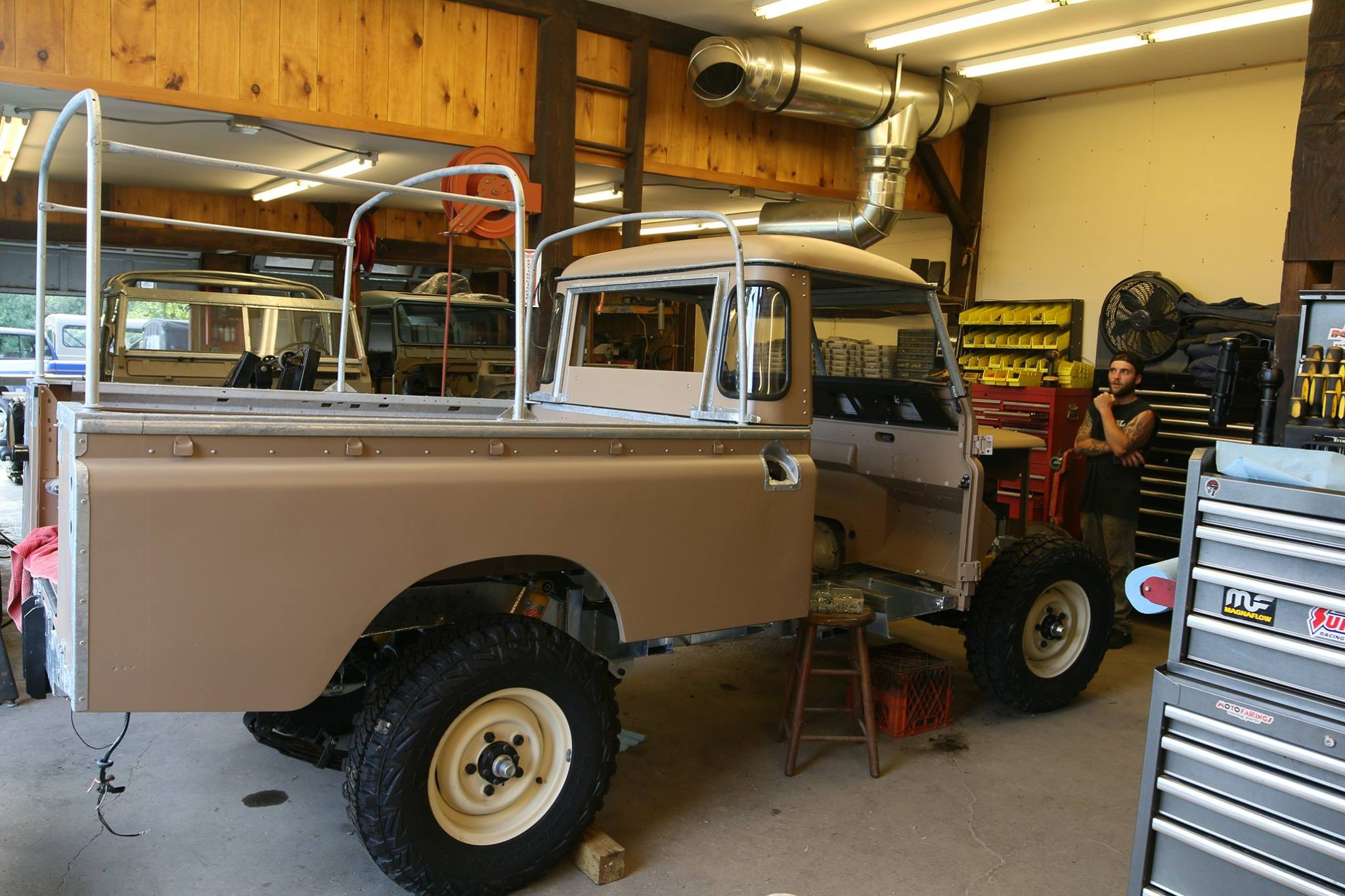 """1972 Land Rover Series III 109"""" Pickup NAO Expedition Package"""