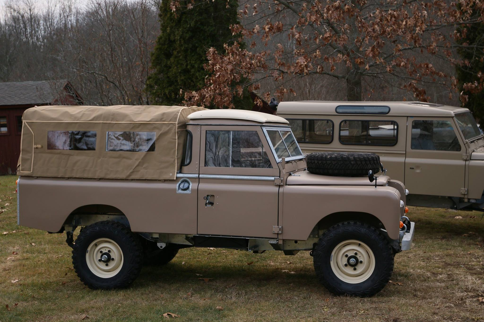 1972 land rover series iii 109 pickup nao expedition. Black Bedroom Furniture Sets. Home Design Ideas