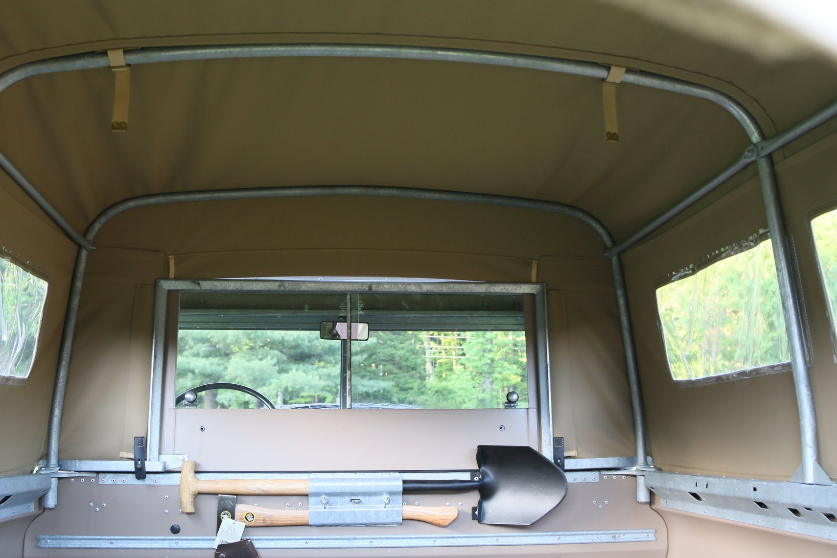 1972 Land Rover Series II 109 Inch Pickup Restoration Photo aj