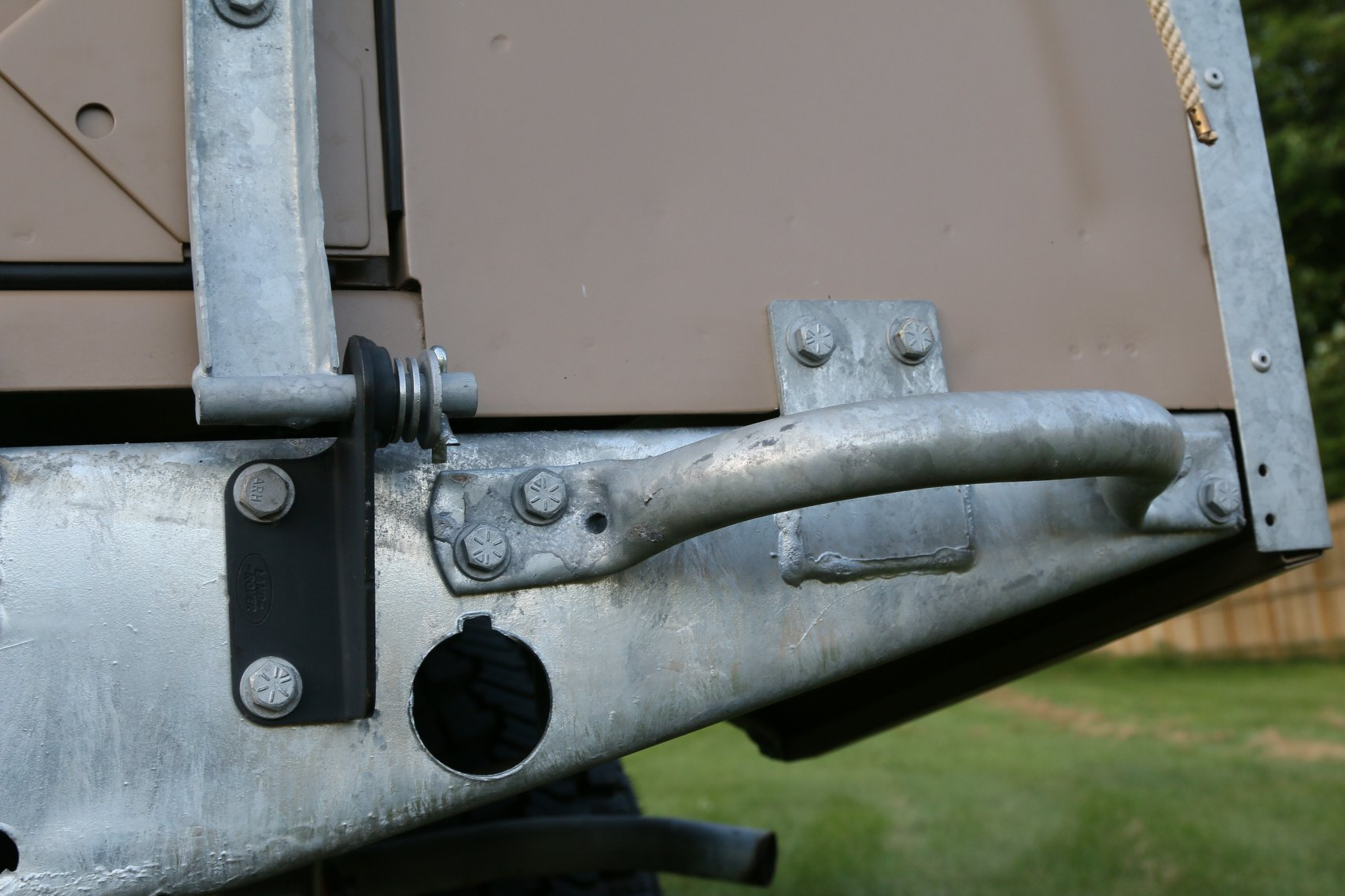 1972 Land Rover Series II 109 Inch Pickup Restoration Photo al