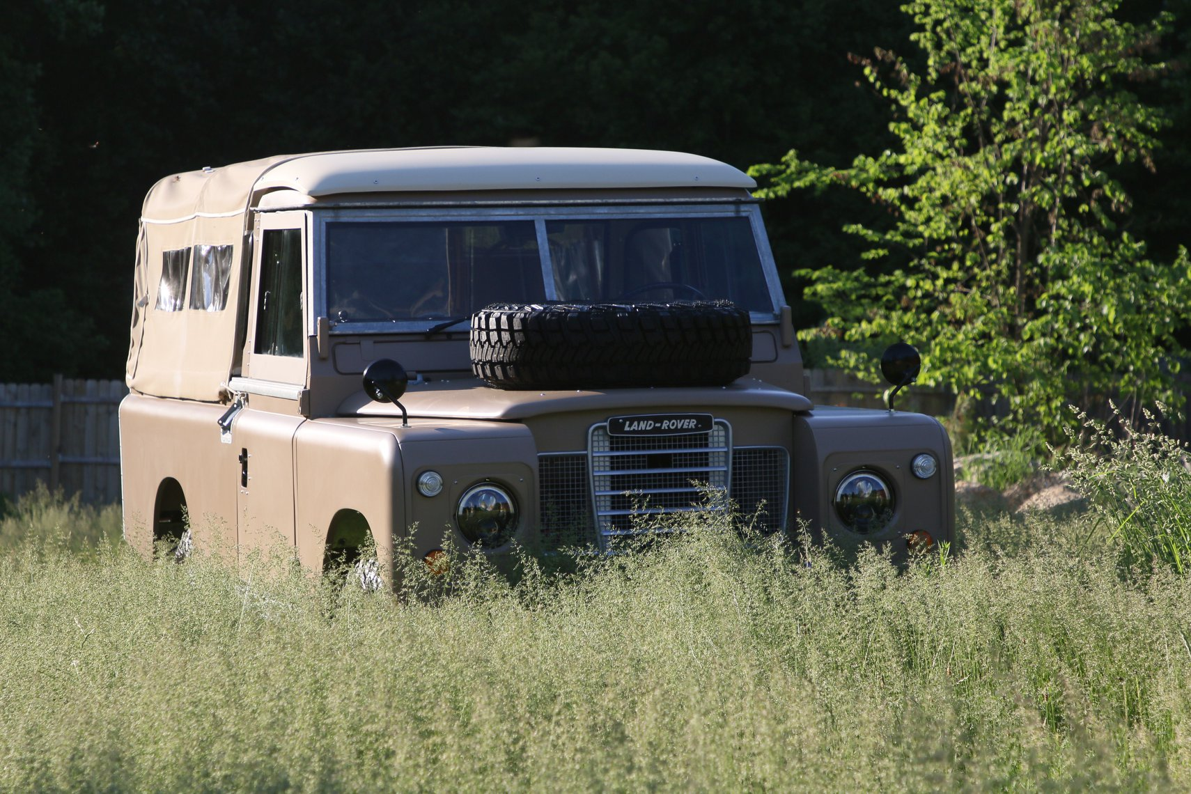 1972 Land Rover Series II 109 Inch Pickup Restoration Photo an