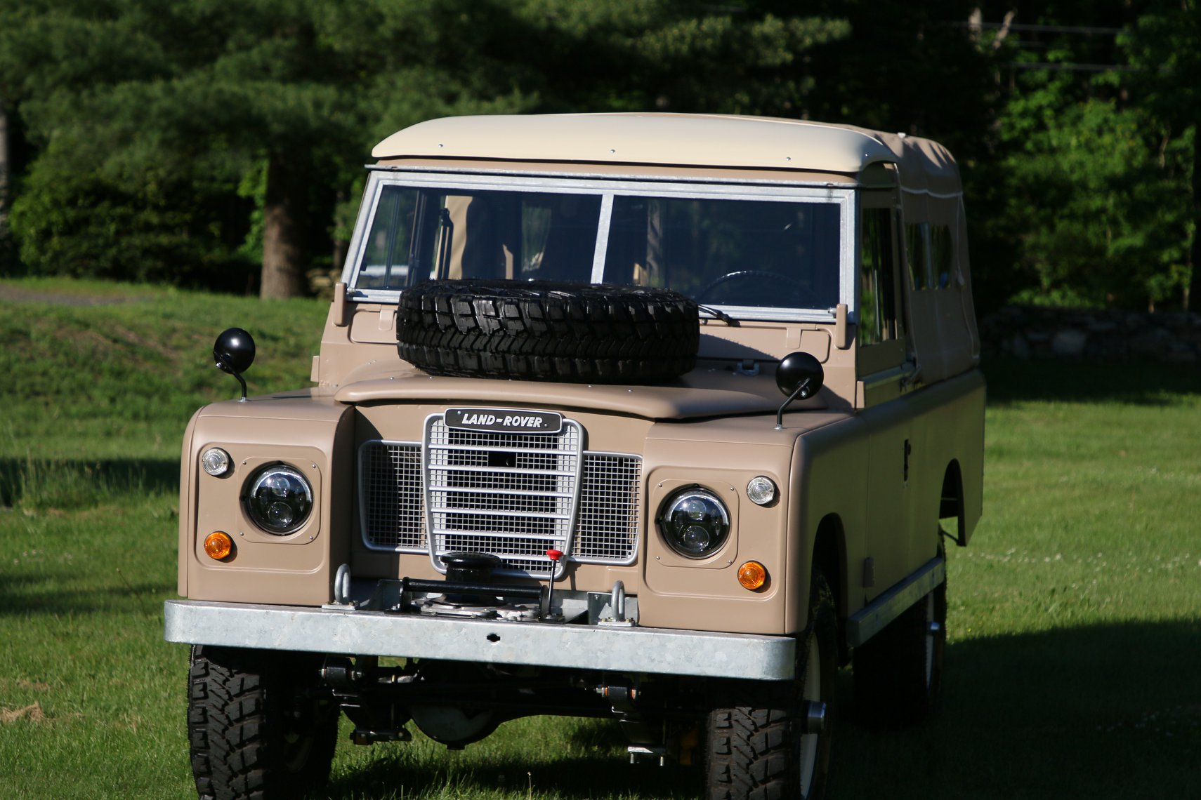 1972 Land Rover Series II 109 Inch Pickup Restoration Photo ap
