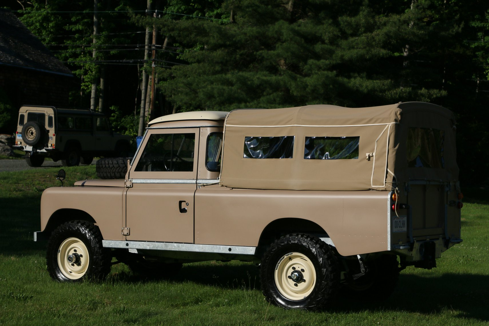 1972 Land Rover Series II 109 Inch Pickup Restoration Photo aq