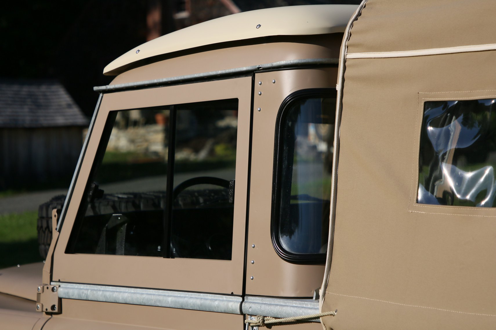 1972 Land Rover Series II 109 Inch Pickup Restoration Photo b