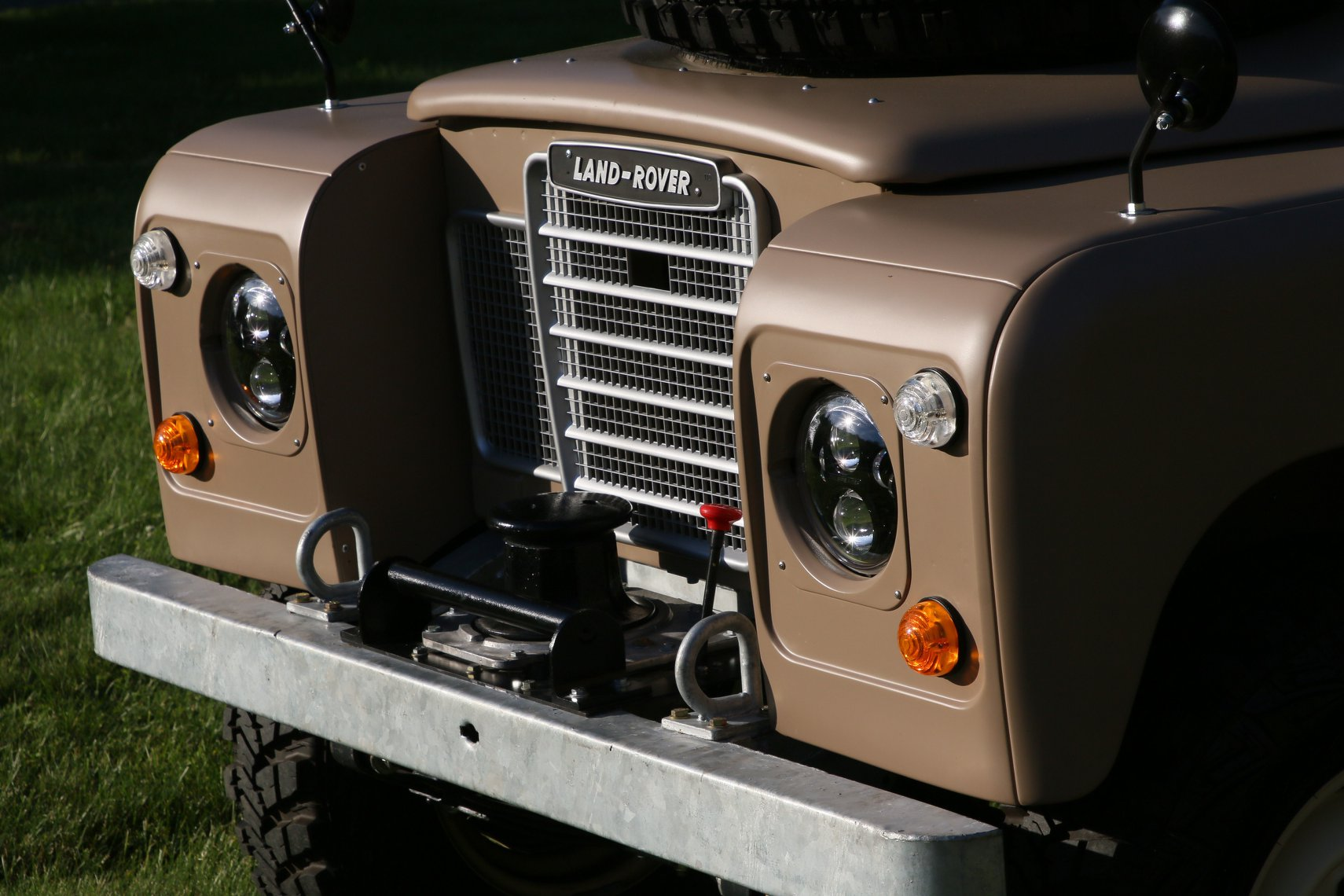 1972 Land Rover Series II 109 Inch Pickup Restoration Photo f