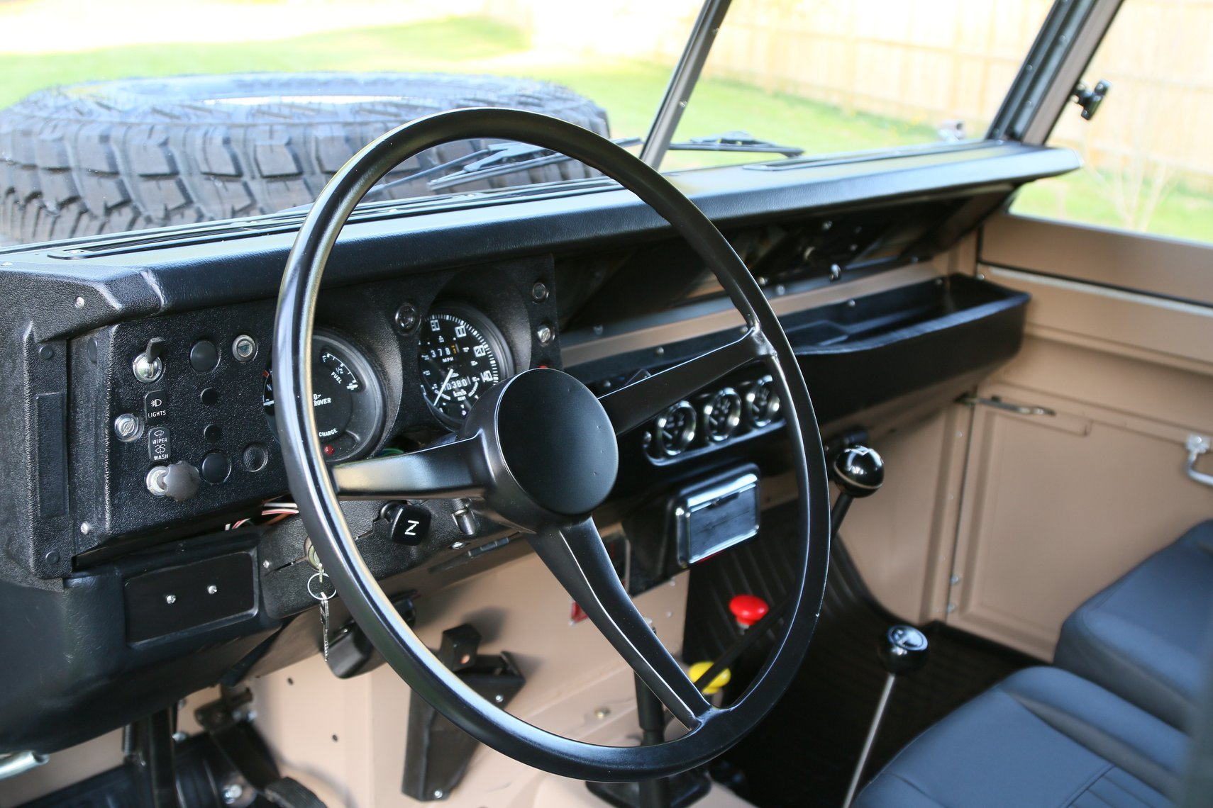 1972 Land Rover Series II 109 Inch Pickup Restoration Photo m