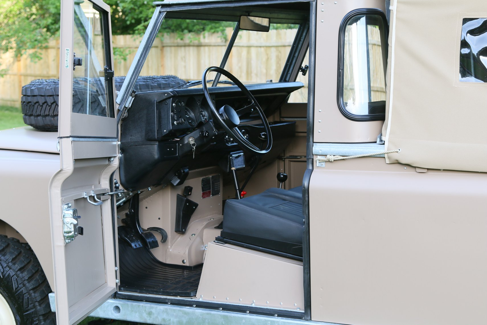 1972 Land Rover Series II 109 Inch Pickup Restoration Photo s