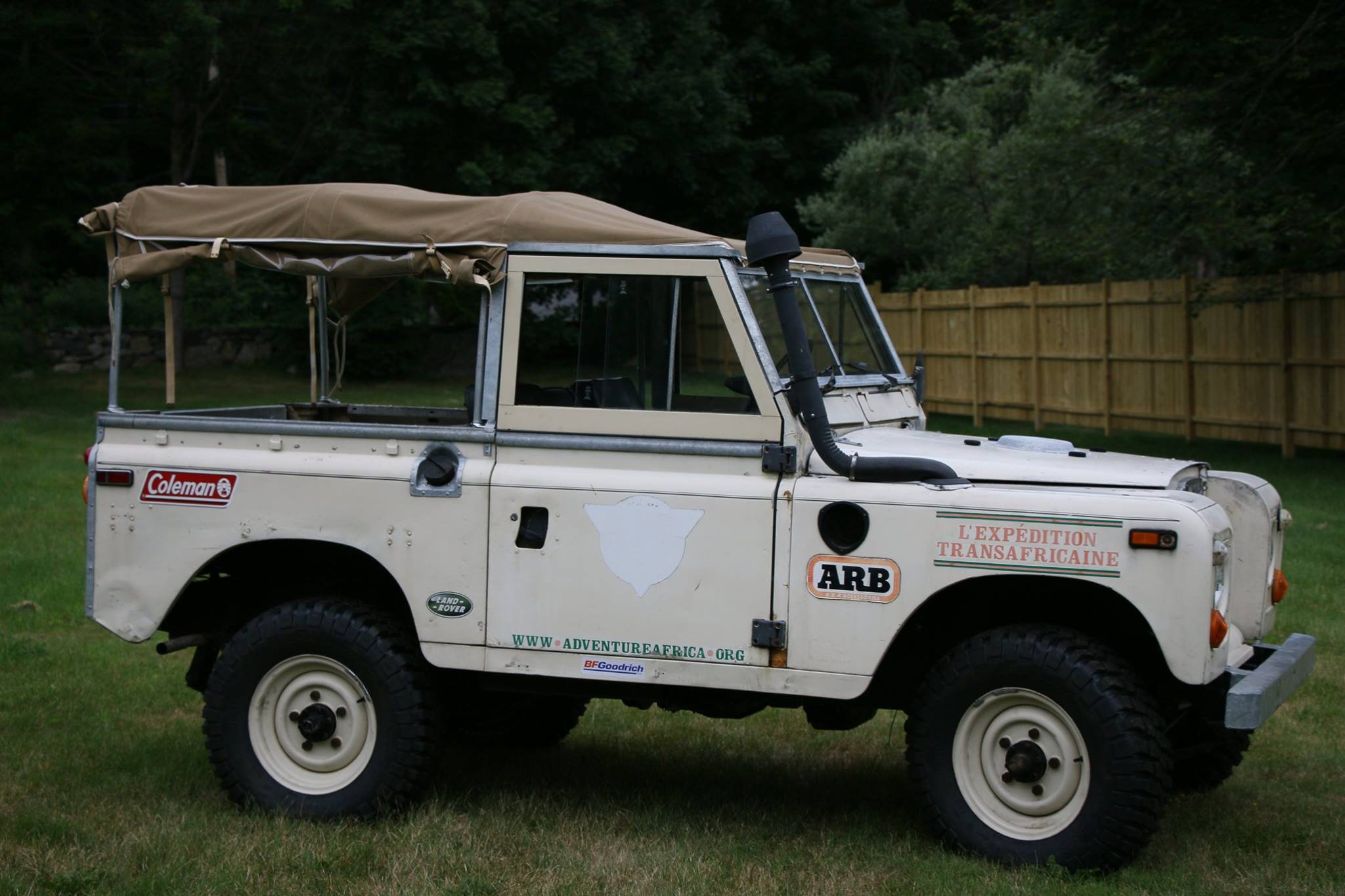 1973 Land Rover Series III L'Expedition Transafricaine