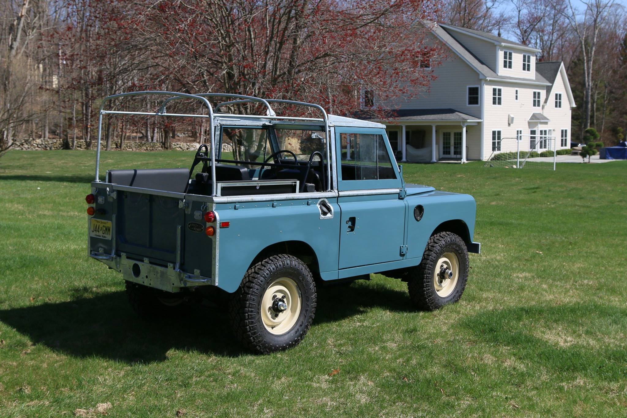 1973 Land Rover Series III North America Overland