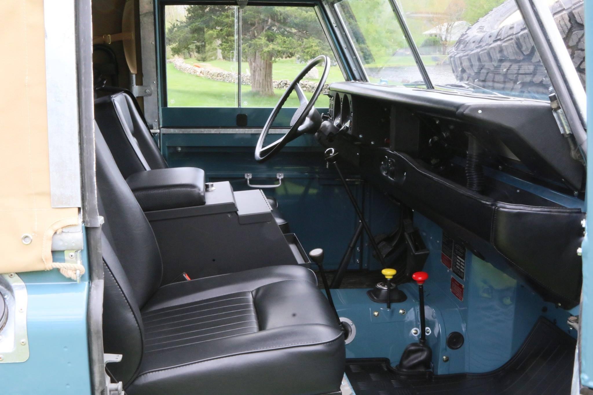 1973 Land Rover Series Iii Marine Blue North America