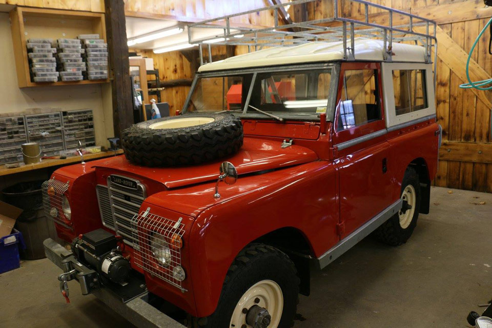 This Land Rover Series III NAO Expedition Package is ready for a full restoration.