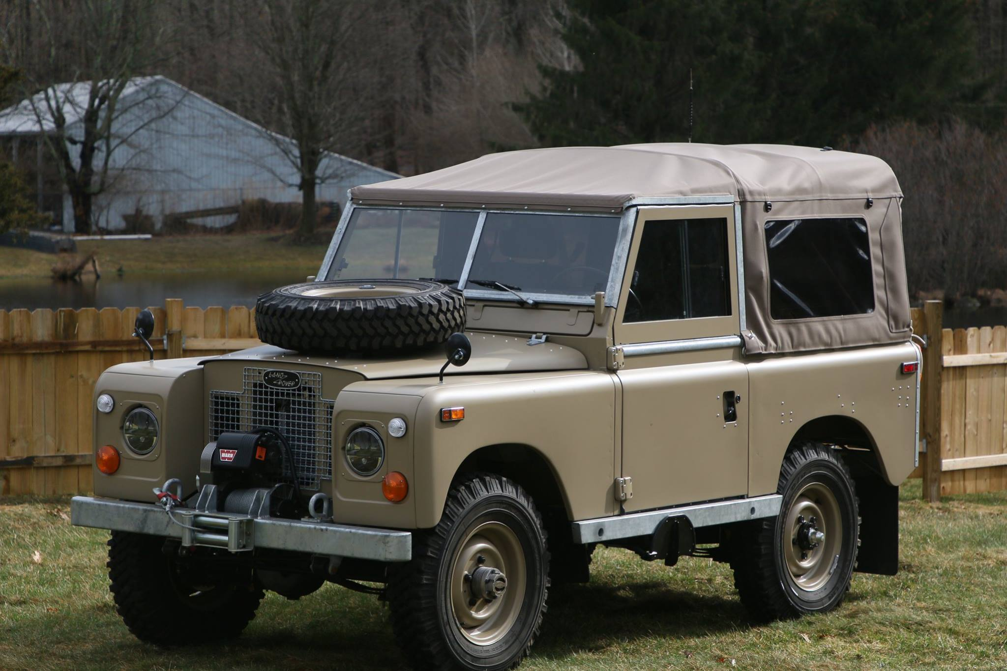 1974 Land Rover Series III Expedition Package