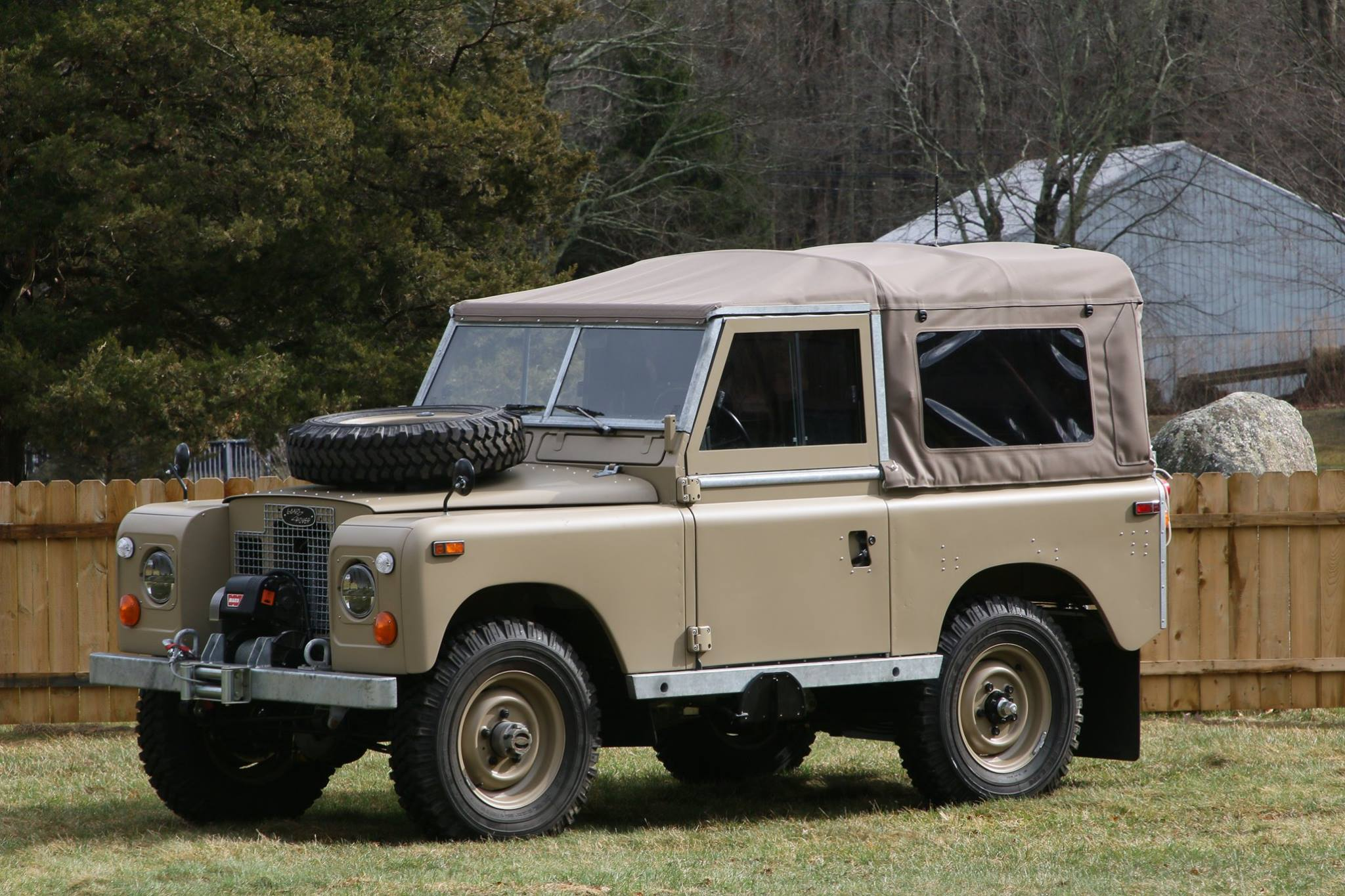 Land Rover Series Iia And Iii Restoration North America Defender 90 Rear Wiring Diagram Restored