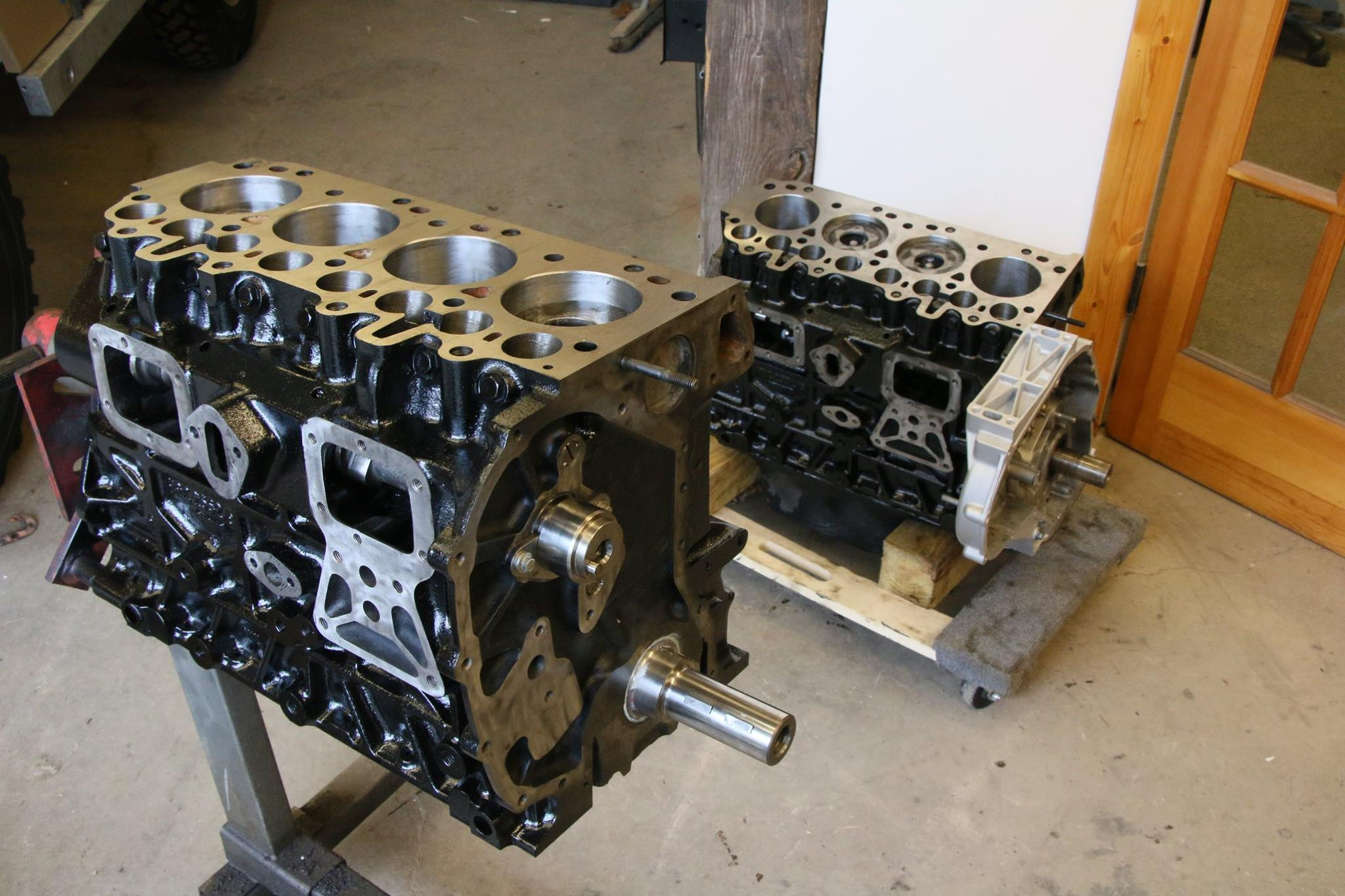 Rebuilt 300tdi engine for Land Rover.