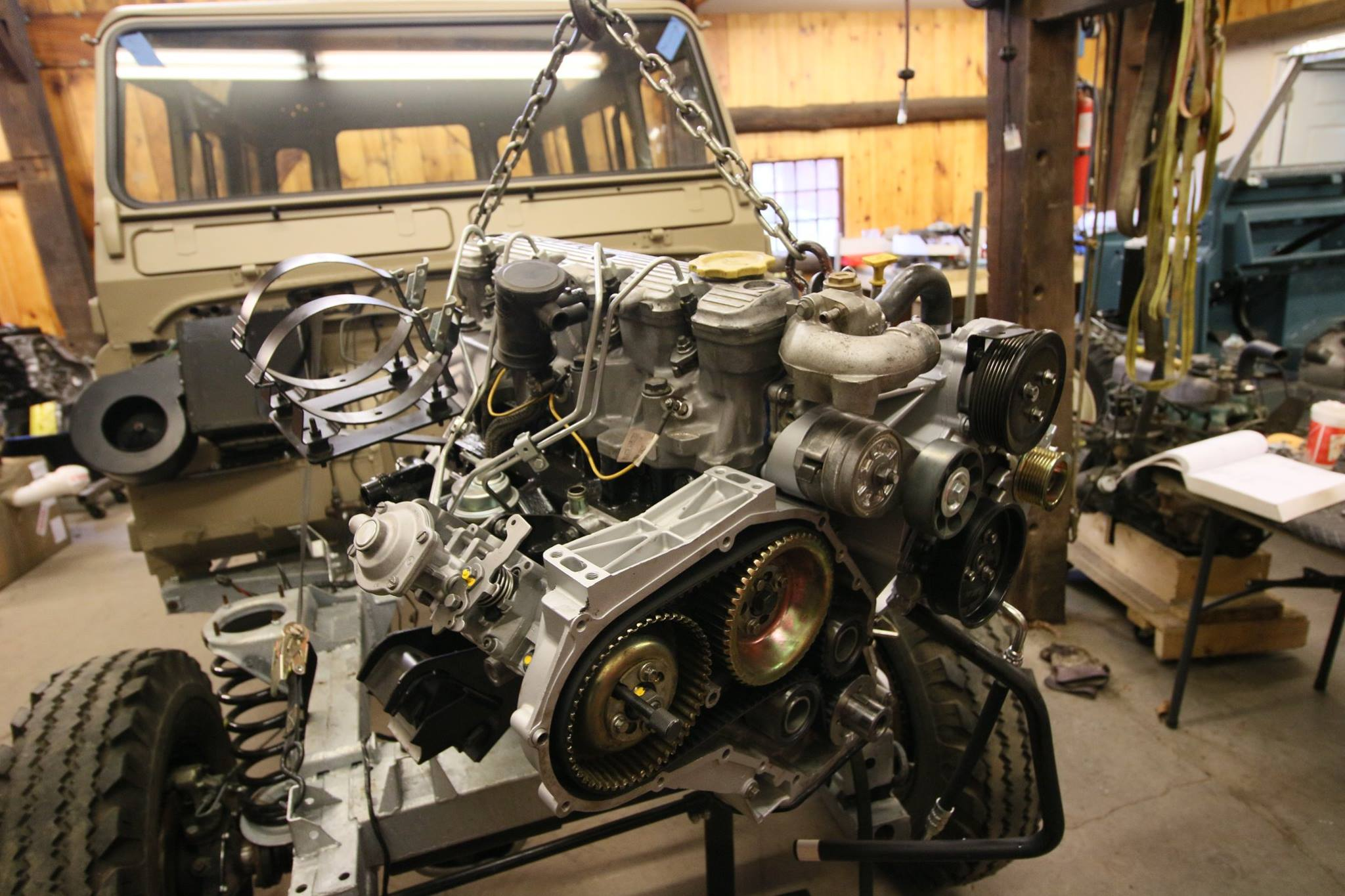 300tdi engine installation