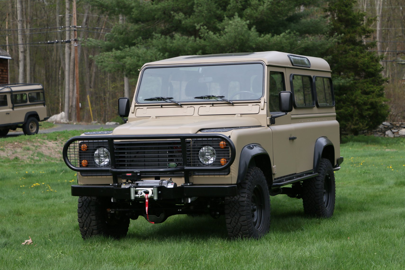 1985 Land Rover 110 NAO Expedition Package