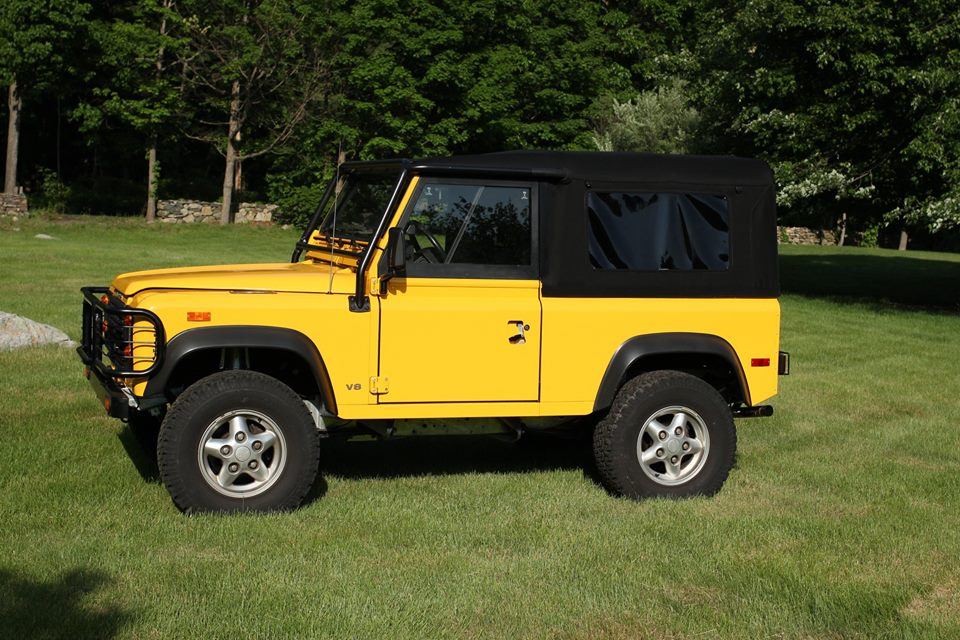 1994 Land Rover Defender 90 North America Overland