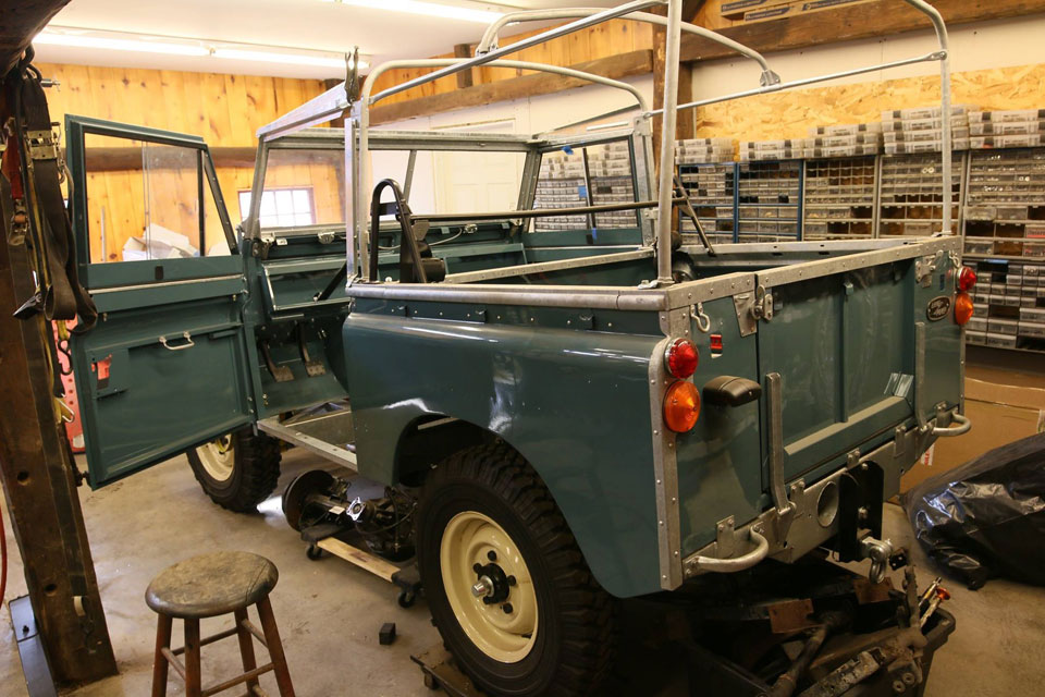 1969 Land Rover Series IIa Marine Blue