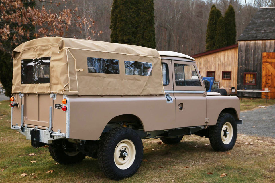 land rover restoration projects north america overland. Black Bedroom Furniture Sets. Home Design Ideas