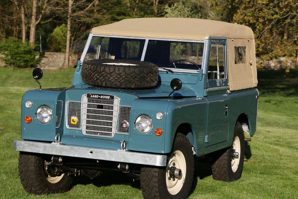 Land Rover Marin >> 1973 Land Rover Series Iii Marine Blue North America Overland