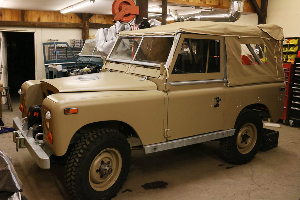 1974 Land Rover Series III NAO Expedition Package