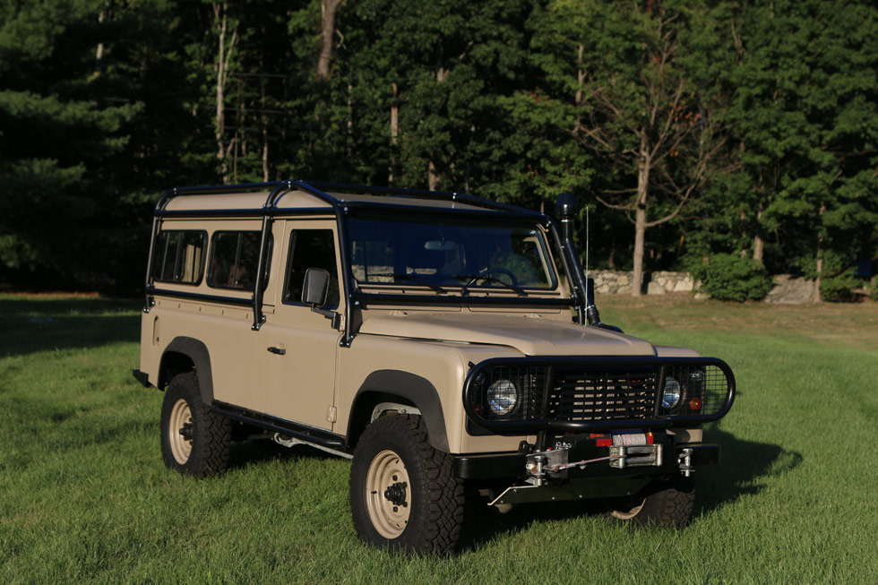 1986 Land Rover NAO 110 Expedition Package